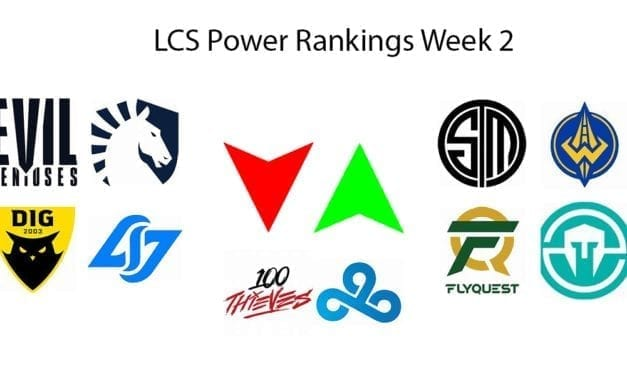 LCS Power Rankings week 2