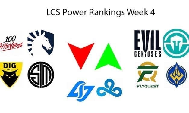 LCS Power rankings week 4