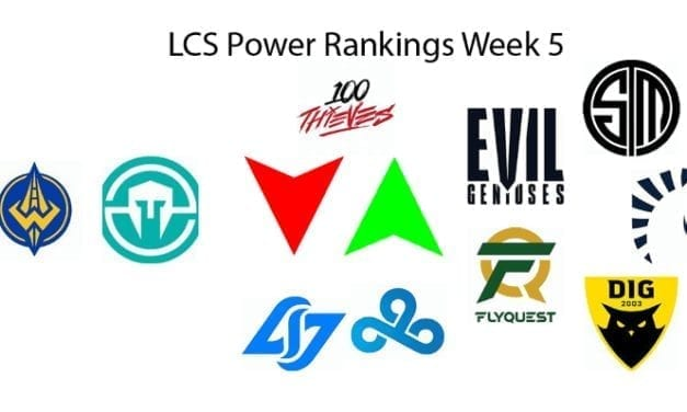 LCS Power Rankings Week 5