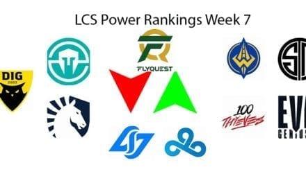 LCS Power Rankings Week 7