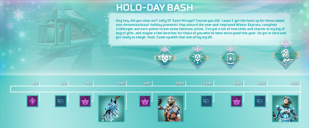 apex legends holo-day bash 2020