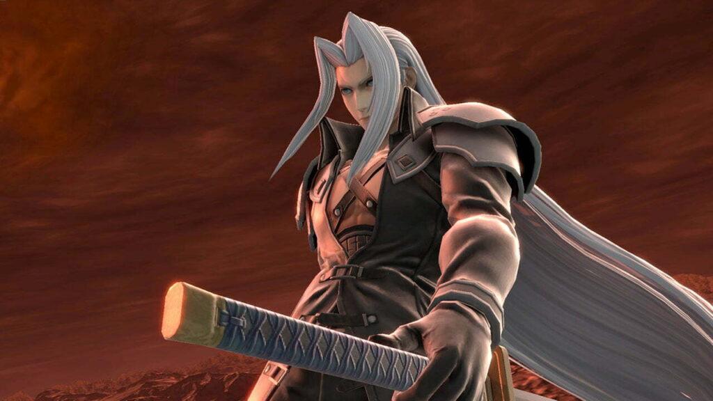 sephiroth heads to super smash bros ultimate