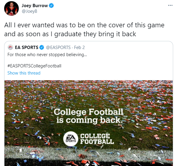 college football game