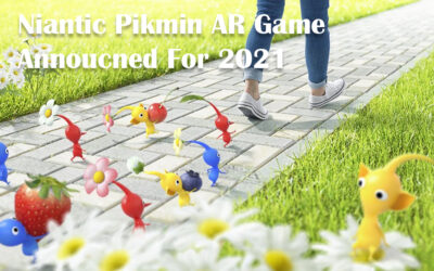 Niantic Pikmin AR Game Announced For 2021